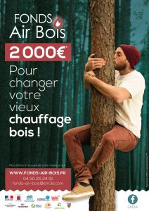 Affiche Fonds Air Bois