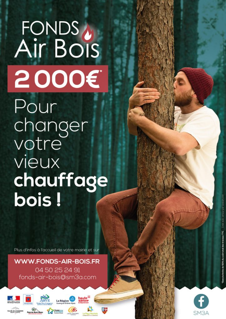 Affiche Fonds Air Bois