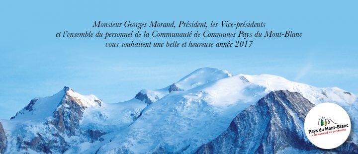 La CCPMB vous souhaite une bonne année
