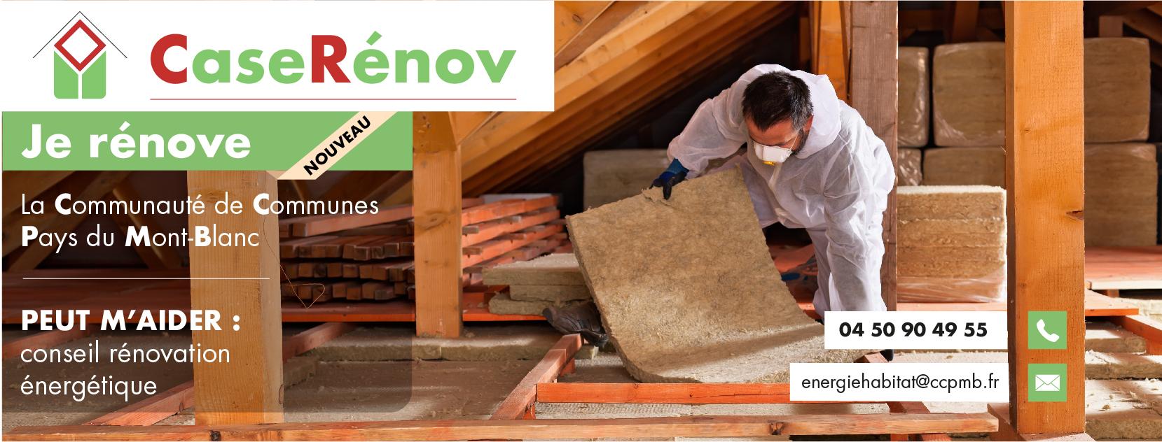 CaseRénov vous aide pour la rénovation énergétique