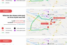 Transport – Travaux RD 1205 et RD 43
